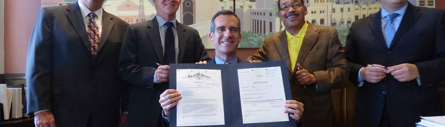 Mayor Garcetti LADBS Ordinance